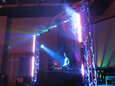 DJ Lex Stage Setup
