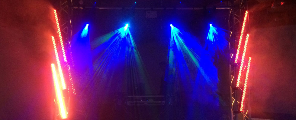 Intelligent Lighting Stage Setup