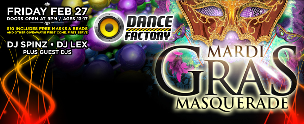 Teen Party: Mardi Gras!