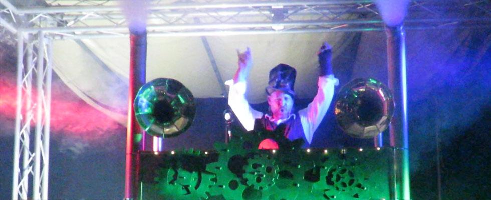 Steampunk DJ Booth