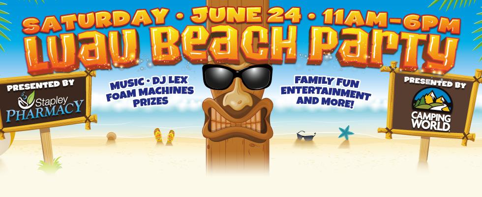 Luau Beach Party @ WCCC