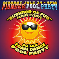 Pioneer Pool Party