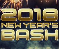 New Year's Bash – Sat Dec 30th
